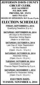 circuit clerk election schedule lowercase