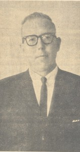 Dr. Tripp's Ordination photograph from The Prentiss Headlight July 28, 1966 edition.