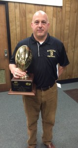 Holley Cochran / The Prentiss Headlight—Coach Lance Mancuso has been named the National Federation of High School Coaches 2014 Coach of the Year, as well as Mississippi's AA Coach of the Year. He was also chosen to coach the Mississippi-Alabama All-Star Game.