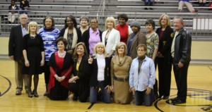 The Prentiss Headlight—Picturedare the 1975 Girls' State Basketball Championship Team 40 years later.They are Shirley Barnes, Nina Bullock, Charlotte Daley, Cindy Daley, Valerie Davis, Debbie Deen, Beverly Hathorn, Terry King, Maria Lee, Jeannie Mayfield, Ethel Mae McLeod, Janet McNease, Patricia Reese, Lana Thompson, Shirley Wilson. Head CoachWillis Lott, Assistant CoachEddie Hough.