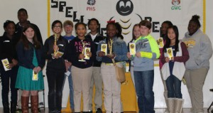 The Prentiss Headlight—Students from Bassfield High, Carver Elementary, Prentiss High, J.E. Johnson Elementary and Prentiss Christian School participated in the Jefferson Davis County School District Spelling Bee.