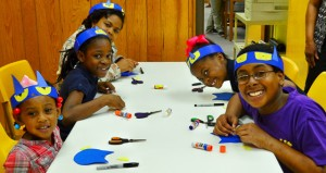 The Prentiss Headlight—Bassfield children enjoyed crafts that included making a Pete, the Cat, headband.