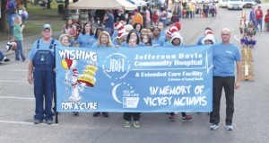 Holley Cochran / The Prentiss Headlight—Jefferson Davis Community Hospital Team