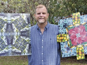 The Prentiss Headlight / These two Kaleidoscape collages created by Gary Bass were featured at the Hattiesburg Arts Council Emerging Artists exhibition.