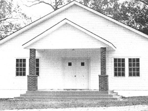 The Prentiss Headlight / Greens Creek Baptist Church at the 100 Year Celebration in 1990.
