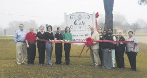 Holley Cochran / The Prentiss Headlight—Cole Family Dentistry is now open at 1335 Winfield Avenue in Prentiss (in the former Dr. David Cloyd building). The practice accepts patients of all ages and files insurance. Call 601-792-5506 or visit www.colefamilydentistry.com for more information.