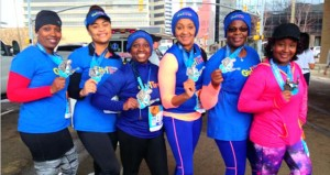 The Prentiss Headlight—Pictured (L to R) are GirlTrek Team Tri-County Trekkers (TCT) members who participated: Tasha Gardner of Prentiss, Sheronda Cato of New Hebron, Monica Cato-Brown of New Hebron, Stephanie Williams of Prentiss, Margaret Barnes of Prentiss, and Taunya Stewart of Mendenhall.