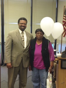 The Prentiss Headlight—Eloise Barnes of Bassfield was recognized for her exemplary bus driving for JDCS.