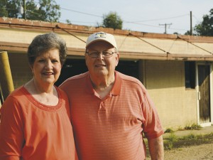 The Prentiss Headlight—Diane and Wesley Daughdrill say farewell to the building that held Emmett Smith's Market.